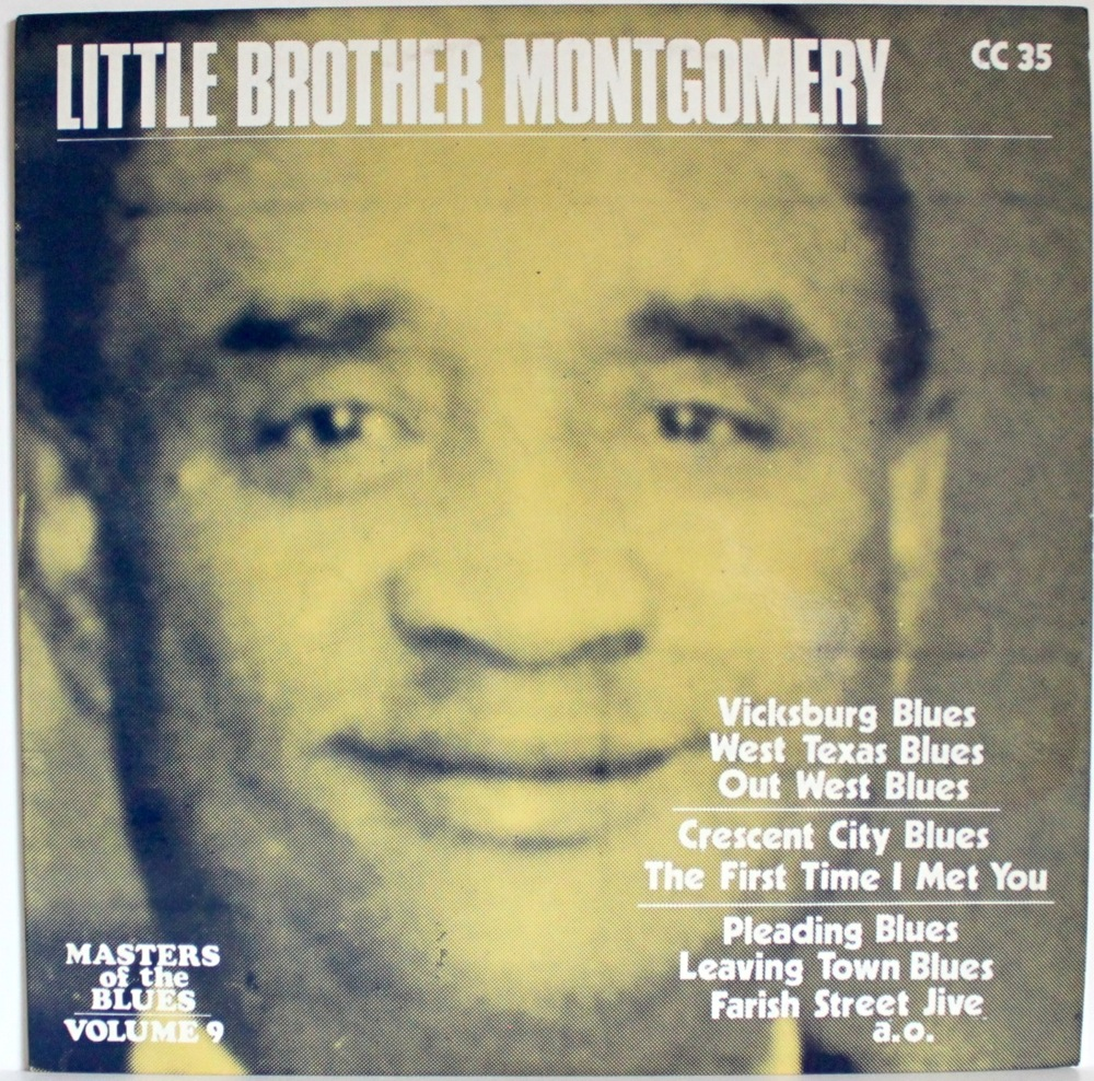 Little Brother Montgomery - Masters Of The Blues - Click Image to Close