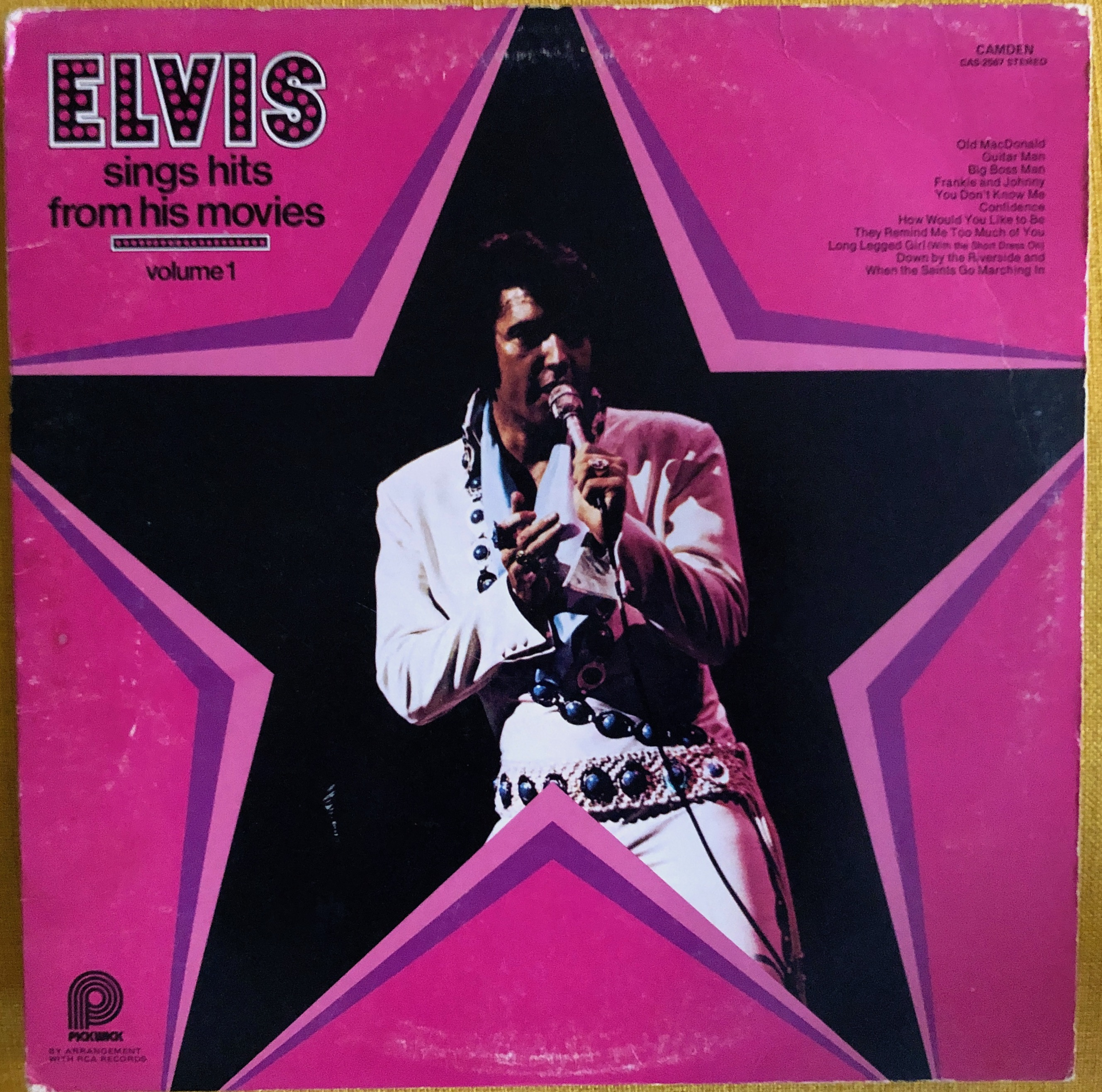 Elvis Presley ‎– Elvis Sings Hits From His Movies