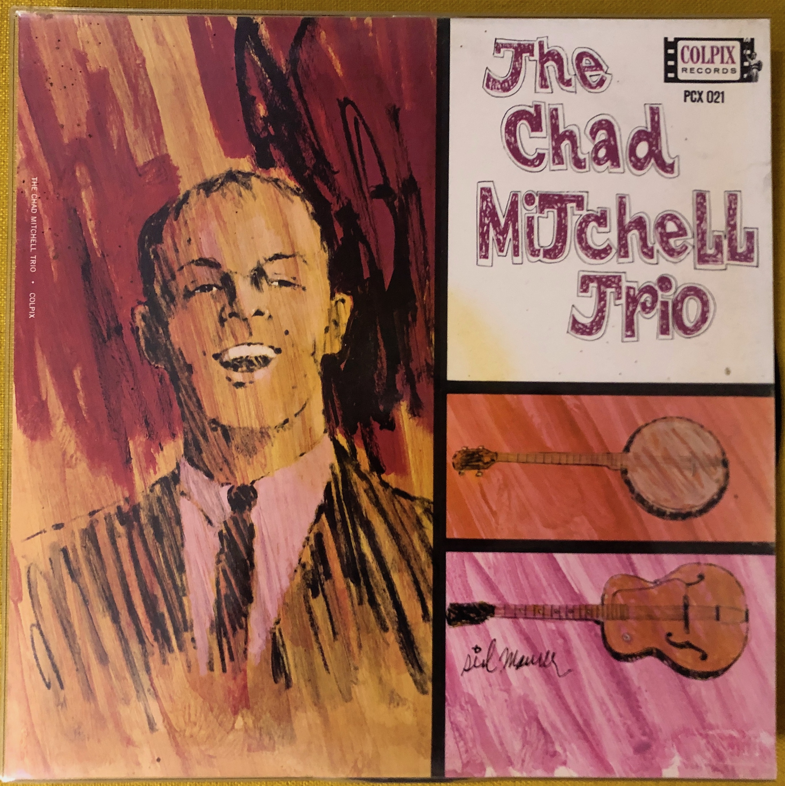 Chad Mitchell Trio ‎– The Chad Mitchell Trio