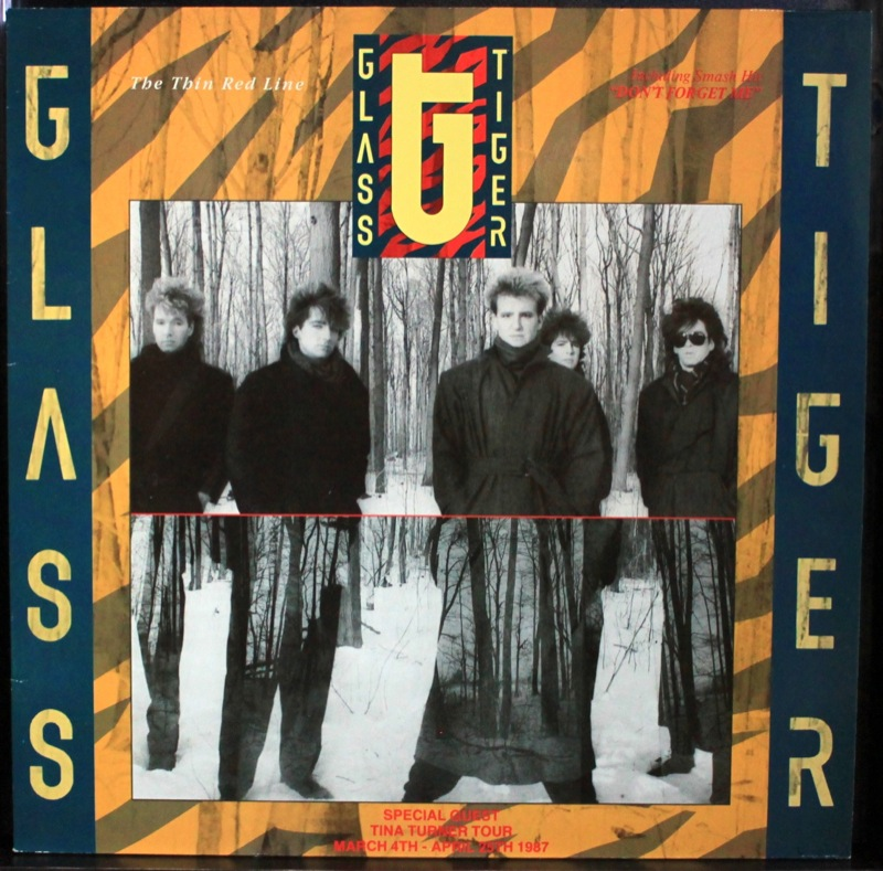 Glass Tiger - The Thin Red Line - Click Image to Close