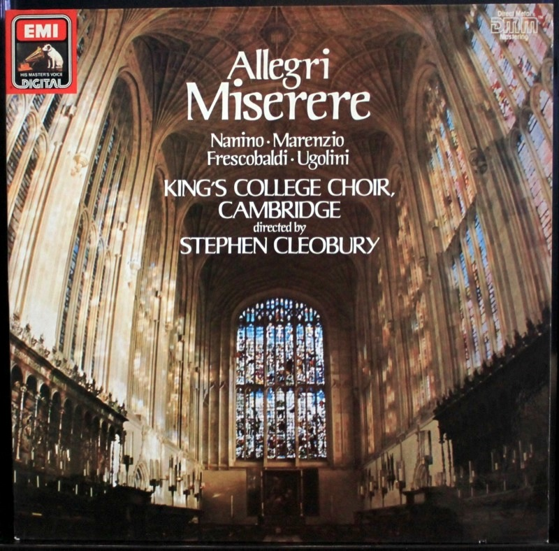 Allegri - Miserere - Click Image to Close