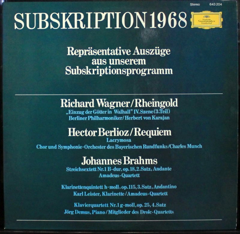 Various - Wagner, Berlioz, Brahms - Click Image to Close