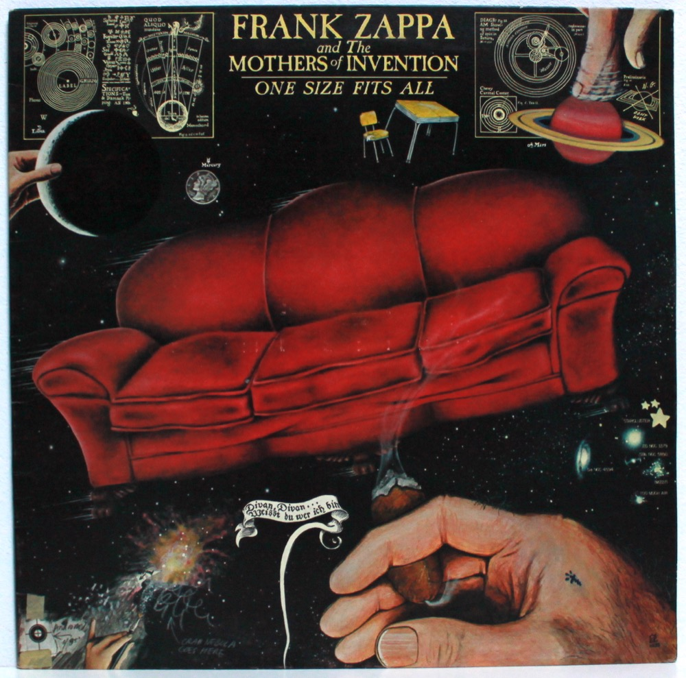 Zappa & The Mothers - One Size Fits All